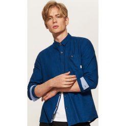 Koszula - Granatowy. Niebieskie koszule męskie House, l. Za 79,99 zł.