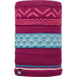 Szaliki męskie: Buff Komin Neckwarmer Buff Knitted Polar Fleece Switch Pink Cerisse wielokolorowy, roz. 29×25 (BUF113337.521.10.00)