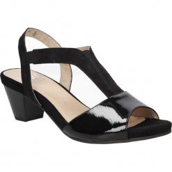 SANDAŁY CAPRICE 9-28306-26. Czarne sandały damskie Caprice. Za 189,99 zł.
