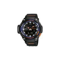 Zegarek barometr SGW 450H 2BER. Czarne zegarki męskie CASIO. Za 349,99 zł.