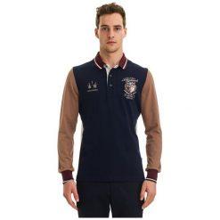 Galvanni Koszulka Polo Męska Rockhampton Xl Ciemny Niebieski. Niebieskie koszulki polo marki GALVANNI, m, z długim rękawem. W wyprzedaży za 299,00 zł.