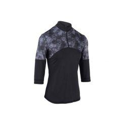 Koszulka tenisowa Thermic 3/4 900 damska. Niebieskie t-shirty damskie marki ARTENGO, z elastanu, ze stójką. Za 59,99 zł.
