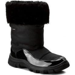 Kozaki dziewczęce: Śniegowce NATURINO – Volga 0013001240.01.9101 Nero F. Do Nero D