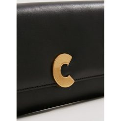 Coccinelle CRAQUANTE SMOOTH Portfel noir. Czarne portfele damskie marki Coccinelle. Za 699,00 zł.