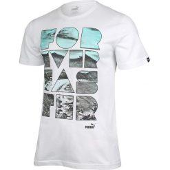 Puma Koszulka męska Summer Tee S biała r. M (836444 02). Białe koszulki sportowe męskie marki Adidas, l, z jersey, do piłki nożnej. Za 69,05 zł.