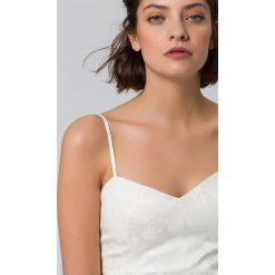 IVY & OAK Sukienka koktajlowa snow white. Białe sukienki koktajlowe IVY & OAK, z bawełny. W wyprzedaży za 797,30 zł.