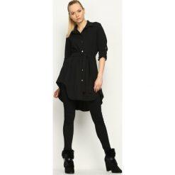 Czarna Koszula Affinity. Czarne koszule damskie marki other, uniwersalny, koszulowe. Za 84,99 zł.