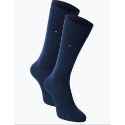 Tommy Hilfiger - Skarpety męskie pakowane po 2 szt., niebieski. Niebieskie skarpetki męskie marki TOMMY HILFIGER, z bawełny. Za 59,95 zł.