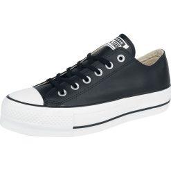 Converse Chuck Taylor All Star Lift Clean - OX Buty sportowe czarny. Szare buty sportowe damskie marki Converse, z gumy. Za 284,90 zł.