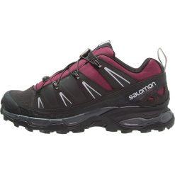 Salomon X ULTRA Obuwie hikingowe bordeaux/asphalt/steel grey. Czarne buty trekkingowe damskie Salomon, z gumy, outdoorowe. W wyprzedaży za 347,40 zł.