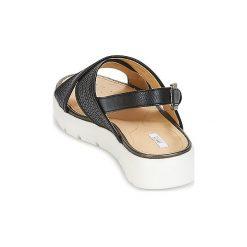 Sandały Geox  AMALITHA B. Szare sandały damskie marki Geox, z gumy. Za 383,20 zł.