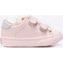 Gioseppo - Tenisówki dziecięce. Szare buty sportowe dziewczęce Gioseppo, z materiału, z okrągłym noskiem. W wyprzedaży za 129,90 zł.