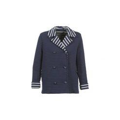 Płaszcze Petit Bateau  RODUNE. Niebieskie płaszcze damskie pastelowe Petit Bateau, l. Za 419,30 zł.