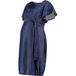 Sukienki hiszpanki: 9Fashion CASTILLO Sukienka jeansowa indigo
