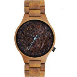 Zegarek Giacomo Design Drewniany męski GD08804. Brązowe zegarki męskie Giacomo Design. Za 559,00 zł.