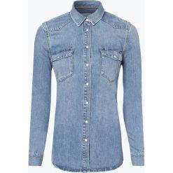 Tommy Hilfiger - Damska koszula jeansowa – koszula jeansowa Tommy Icons, niebieski. Niebieskie koszule jeansowe damskie marki TOMMY HILFIGER. Za 349,95 zł.