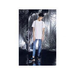 Spodnie Błękitne Jeansowe rurki Skinny Fit. Niebieskie rurki męskie MALE-ME, z bawełny. Za 279,00 zł.