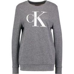 Bluzy rozpinane damskie: Calvin Klein Jeans TRUE ICON Bluza black heather