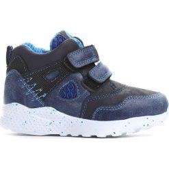 Granatowe Buty Sportowe Milion Bicycles. Szare buty sportowe chłopięce marki Born2be, z materiału, na platformie, na rzepy. Za 39,99 zł.