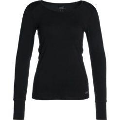 Bluzki asymetryczne: Casall ESSENTIAL LONG SLEEVE Bluzka z długim rękawem black