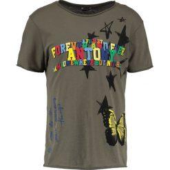T-shirty męskie z nadrukiem: Antony Morato Tshirt z nadrukiem army green