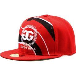 Czapka męska snapback czerwona (hx0167). Czerwone czapki z daszkiem męskie Dstreet, z haftami, eleganckie. Za 69,99 zł.