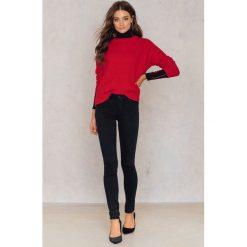 Boyfriendy damskie: NEUW Czarne jeansy Bowery - Black