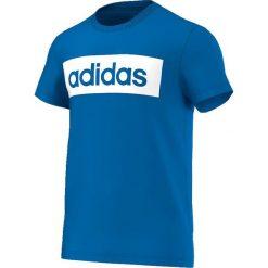 Adidas Koszulka męska Lin Tee niebieska r. M (AK1807). Niebieskie koszulki sportowe męskie Adidas, m. Za 59,99 zł.