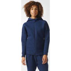 BLUZA ZNE ROADTR HOOD. Niebieskie bluzy sportowe damskie Adidas, l, z bawełny, z długim rękawem, długie. Za 299,99 zł.