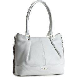 Torebka KAZAR - Gisella 29051-01-01 Biały. Białe torebki klasyczne damskie Kazar, w paski, ze skóry. W wyprzedaży za 499,00 zł.