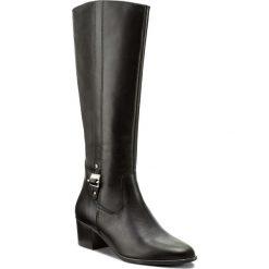 Kozaki TAMARIS - 1-25532-29 Black Uni 007. Szare buty zimowe damskie marki Tamaris, z materiału, na sznurówki. W wyprzedaży za 229,00 zł.