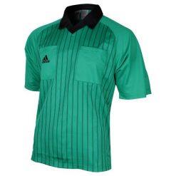 Bluzy męskie: Adidas Bluza sędziowska męska zielona r. L (626725)