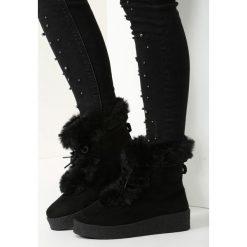 Czarne Śniegowce Lovin' Youu Too Long. Czarne buty zimowe damskie vices. Za 79,99 zł.