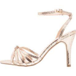 Rzymianki damskie: Paradox London Pink MADY Sandały na obcasie champagne crack metallic