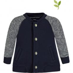 Bluza w kolorze granatowym. Niebieskie bluzy chłopięce marki bellybutton, z aplikacjami, z bawełny. W wyprzedaży za 62,95 zł.