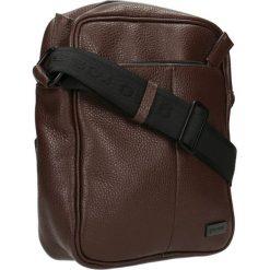 Listonoszka BISSAU. Brązowe torby na ramię męskie marki Kazar, ze skóry, przez ramię, małe. Za 279,90 zł.