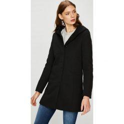 Vero Moda - Płaszcz. Czarne płaszcze damskie marki Vero Moda, l, z bawełny. Za 219,90 zł.