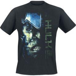 T-shirty męskie: Thor Tag der Entscheidung - Hulk Script T-Shirt czarny