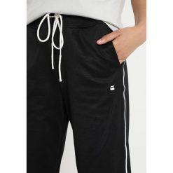 GStar RIE SPORTS PANT Spodnie treningowe black. Czarne bryczesy damskie marki G-Star, xxl, z bawełny. Za 419,00 zł.