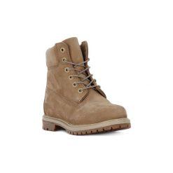 Kozaki i kalosze  Timberland  6 INCH PREMIUM W. Brązowe buty zimowe damskie marki Timberland. Za 741,33 zł.