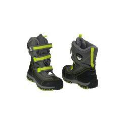 Śniegowce Dziecko Kappa  Ben Tex K 260090K-1633. Niebieskie buty zimowe chłopięce marki Timberland, z gumy. Za 129,99 zł.