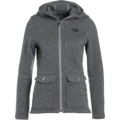 The North Face CRESCENT Kurtka z polaru mottled grey/black. Szare kurtki sportowe damskie marki The North Face, xs, z materiału. W wyprzedaży za 439,20 zł.