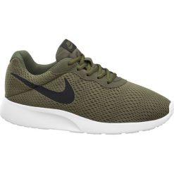 Buty męskie Nike Tanjun NIKE zielone. Zielone buty sportowe damskie Nike, z materiału, nike tanjun. Za 279,90 zł.