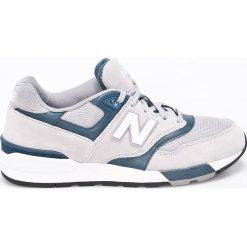New Balance - Buty. Szare halówki męskie marki New Balance, z gumy. W wyprzedaży za 239,90 zł.