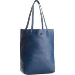 Torebka CREOLE - K10428  Granat. Niebieskie torebki klasyczne damskie Creole, ze skóry, duże. W wyprzedaży za 159,00 zł.