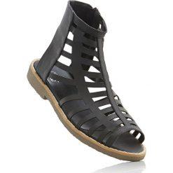 Sandały damskie: Sandały bonprix czarny