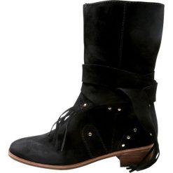 See by Chloé Kozaki nero. Czarne buty zimowe damskie See by Chloé, z materiału. W wyprzedaży za 912,45 zł.