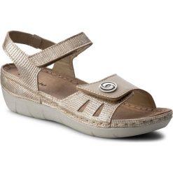 Rzymianki damskie: Sandały INBLU – CB12AO15  Beżowy