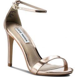 Sandały damskie: Sandały STEVE MADDEN – Stecy Sandal 91000080-0W0-07004-15002 Rose Gold