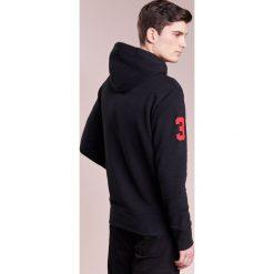 Polo Ralph Lauren MAGIC Bluza z kapturem black. Czarne bluzy męskie rozpinane Polo Ralph Lauren, l, z bawełny, z kapturem. W wyprzedaży za 501,75 zł.